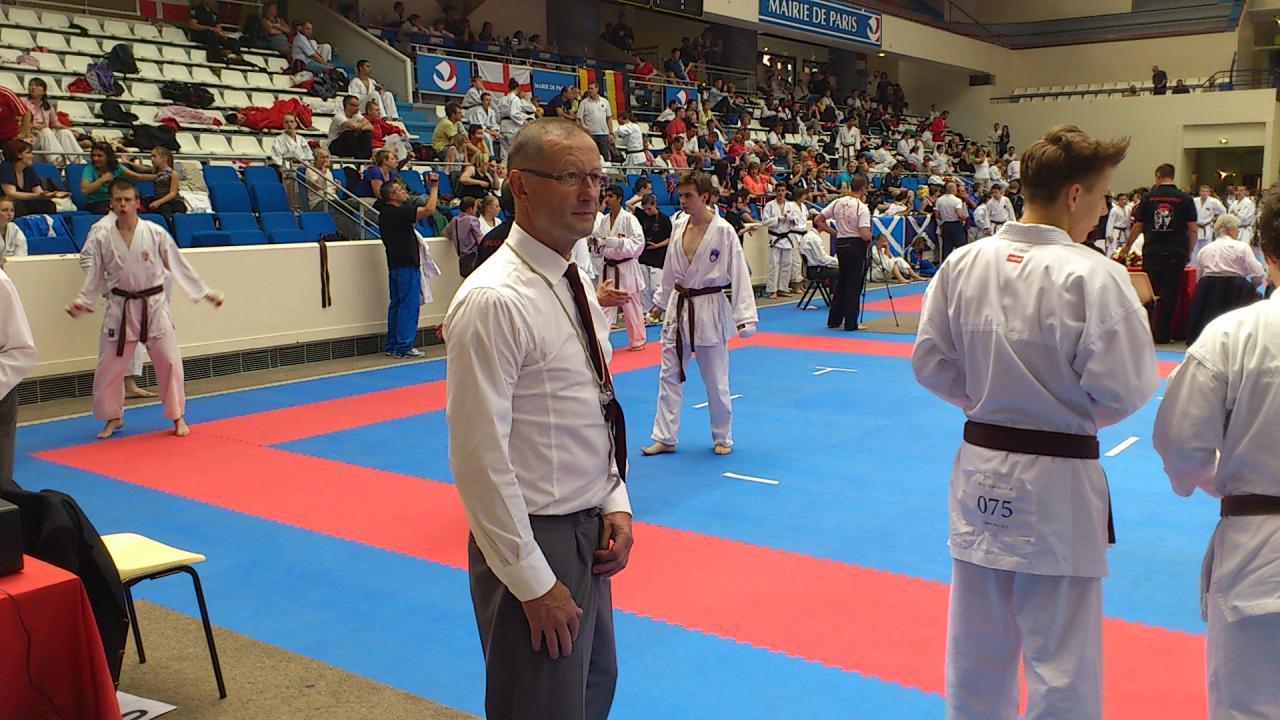 Championnat d'Europe cadets et vétérans Coubertin 2 et 3 juin 2012