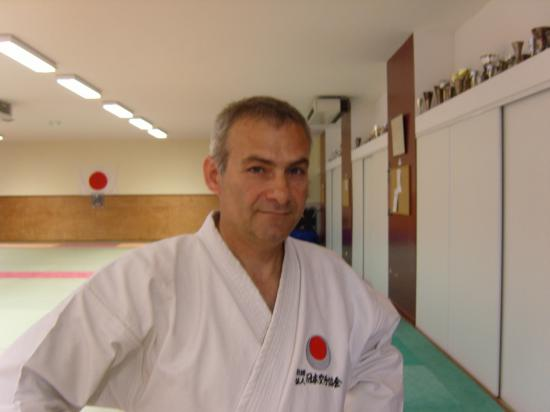 karaté shotokan école JKA, Mr Alati.P instructeur à Creil