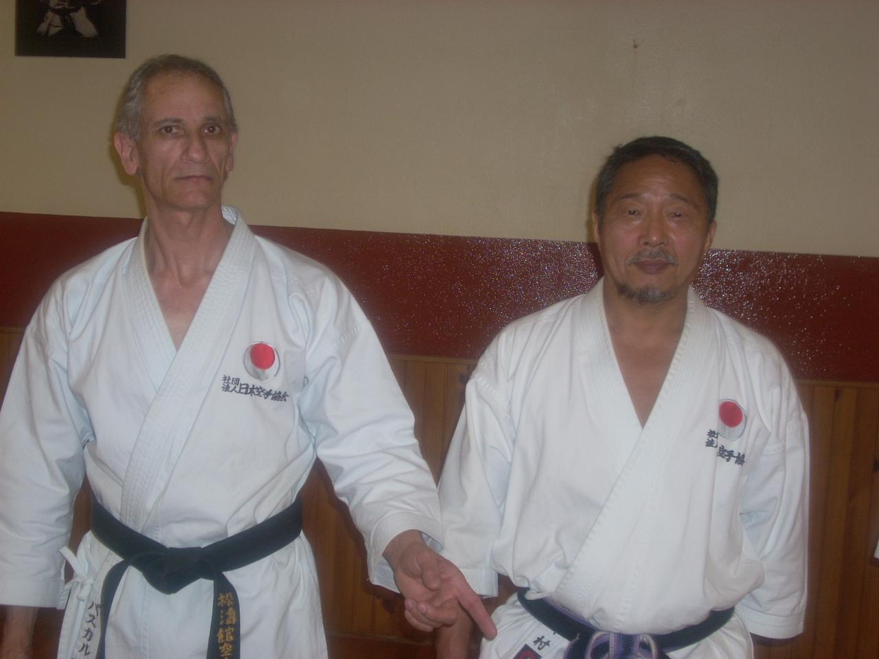 pascal et Imura sensei
