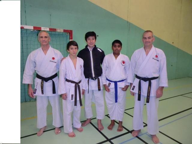 Tatsuya Naka sensei à la Roche sur Yon, 08-12-12