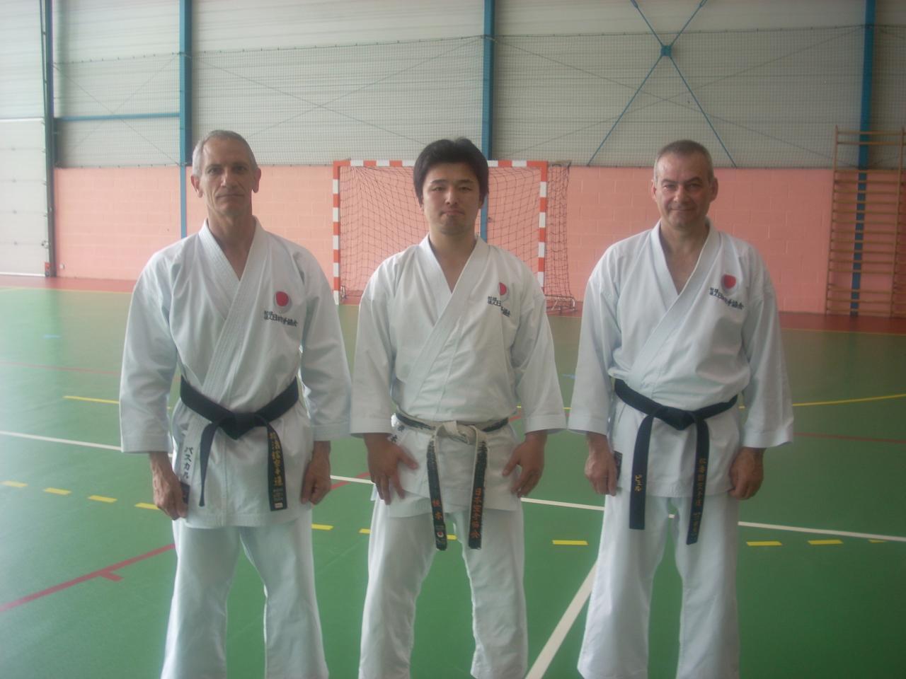 Nemoto sensei, (Jka Japon) à Rantigny