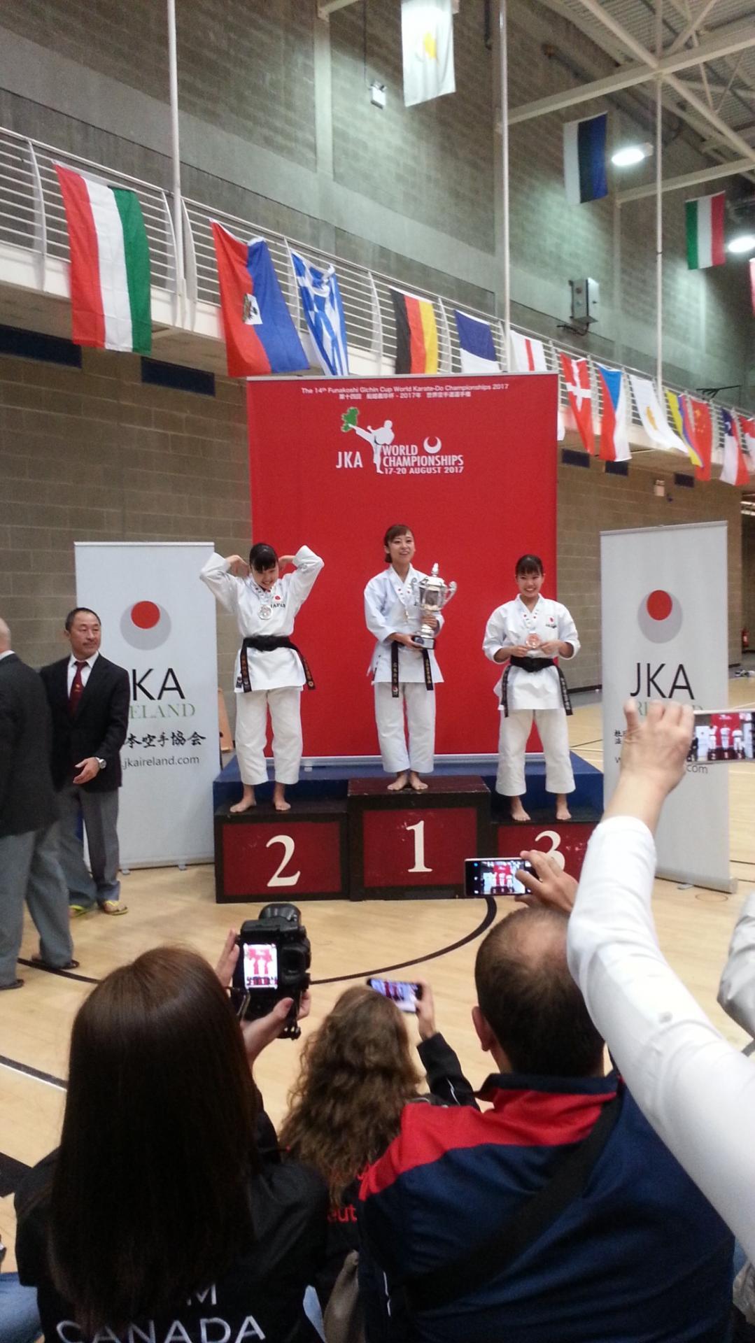 Championnat du Monde Jka 2017 à Limerick