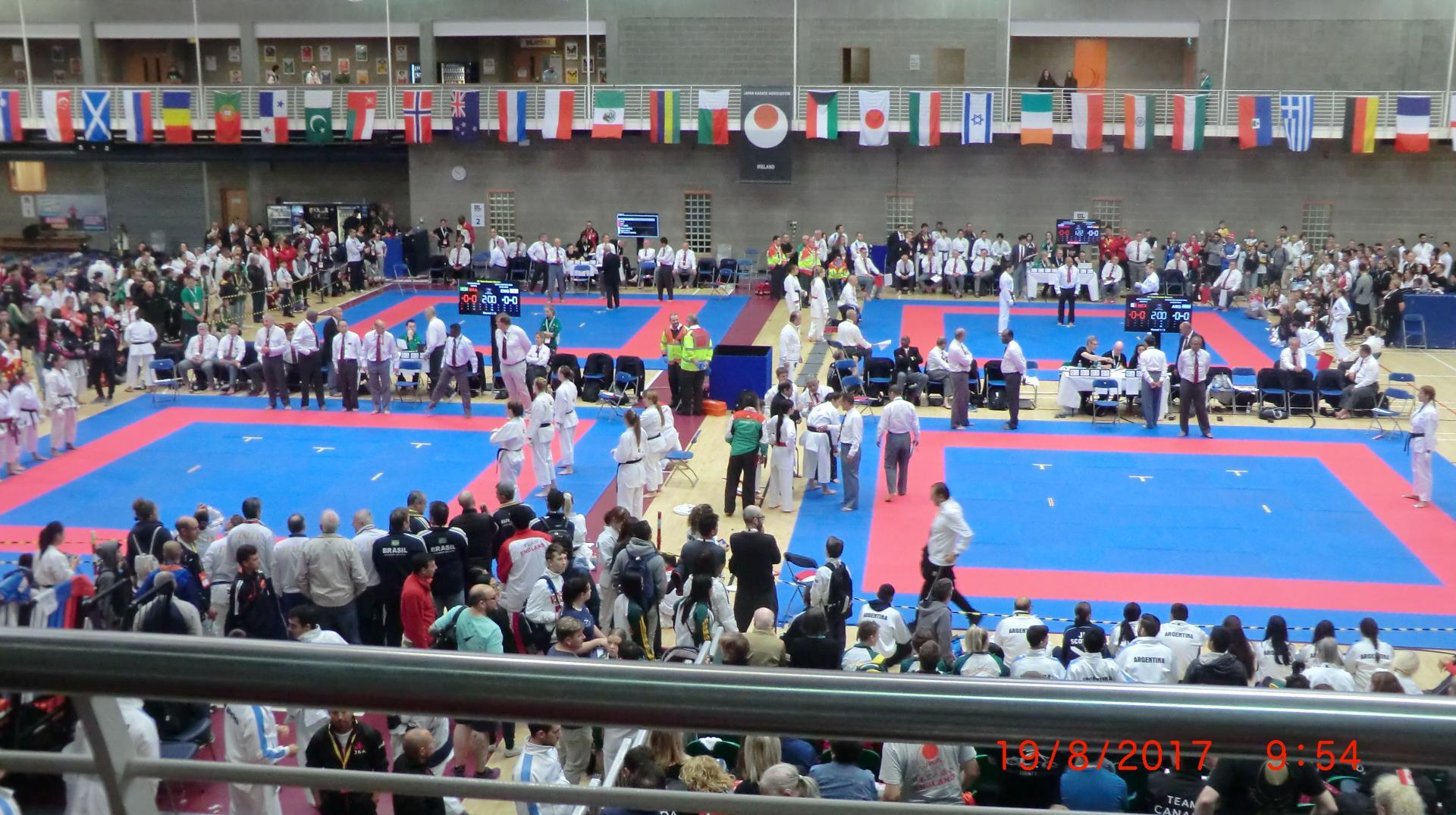 Championnat du Monde Jka 2017 à Limerick ( Irlande