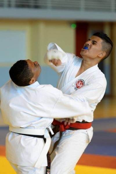 Jka coupe nationale kumite 13 ans de 16 ans quart de finale 19 11 16
